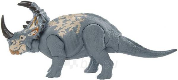 Dinozauras GMC98 / GJN64 JURASSIC WORLD SOUND STRIKE Sinoceratops MATTEL Paveikslėlis 6 iš 6 310820230665