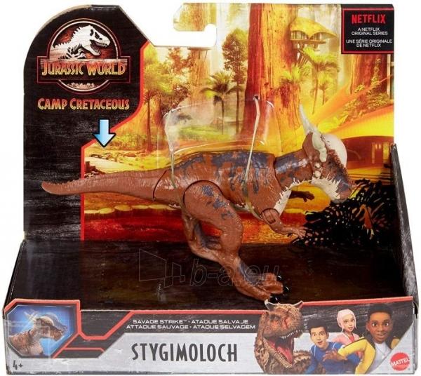 Dinozauras GNK14 Jurassic World Savage Strike Stygimoloch MATTEL Paveikslėlis 2 iš 6 310820230660