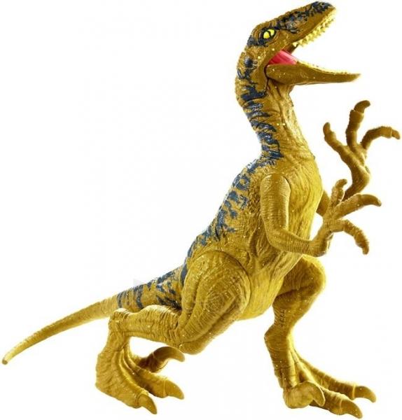 Dinozauras Jurassic World GCR46 / FPF11 Attack Pack Velociraptor Delta MATTEL Paveikslėlis 2 iš 6 310820230652