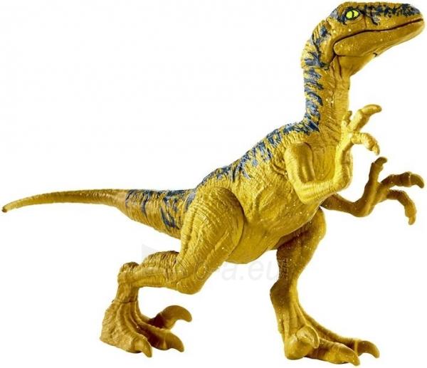 Dinozauras Jurassic World GCR46 / FPF11 Attack Pack Velociraptor Delta MATTEL Paveikslėlis 6 iš 6 310820230652