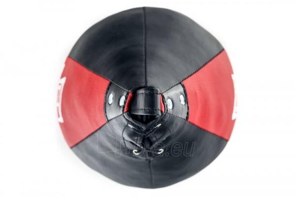 Dirbtinės odos bokso kriaušė Ring Sport juoda/raudona 2kg Small Paveikslėlis 6 iš 7 310820250552