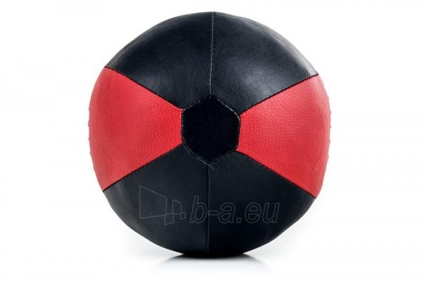 Dirbtinės odos bokso kriaušė Ring Sport juoda/raudona 2kg Small Paveikslėlis 7 iš 7 310820250552