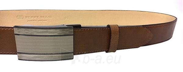 Diržas Penny Belts Men´s Leather Social Belt 35-020-A7 Brown Paveikslėlis 1 iš 2 310820199616