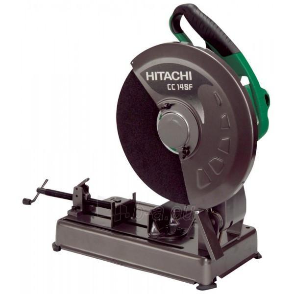 Diskinis metalo pjūklas Hitachi CC14SF Paveikslėlis 1 iš 1 300428000111