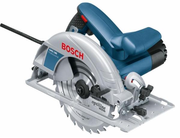 Diskinis pjūklas BOSCH GKS 190 Professional Paveikslėlis 1 iš 1 300428000187