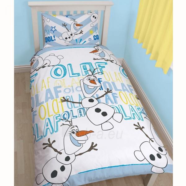 DISNEY Ledo šalis linksmasis Olafas dvipusės patalynės komplektas Paveikslėlis 1 iš 3 30115700694