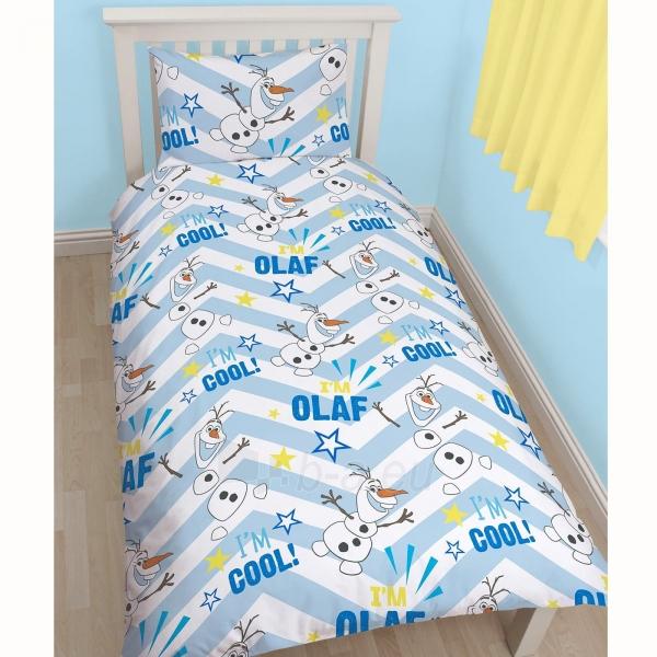 DISNEY Ledo šalis linksmasis Olafas dvipusės patalynės komplektas Paveikslėlis 2 iš 3 30115700694