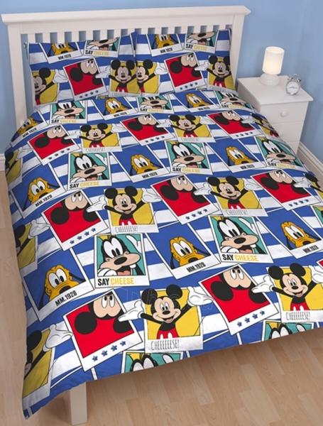 DISNEY Mickey Mouse  dvigulės patalynės komplektas (Polaroidinės nuotraukos) Paveikslėlis 3 iš 5 30115700700