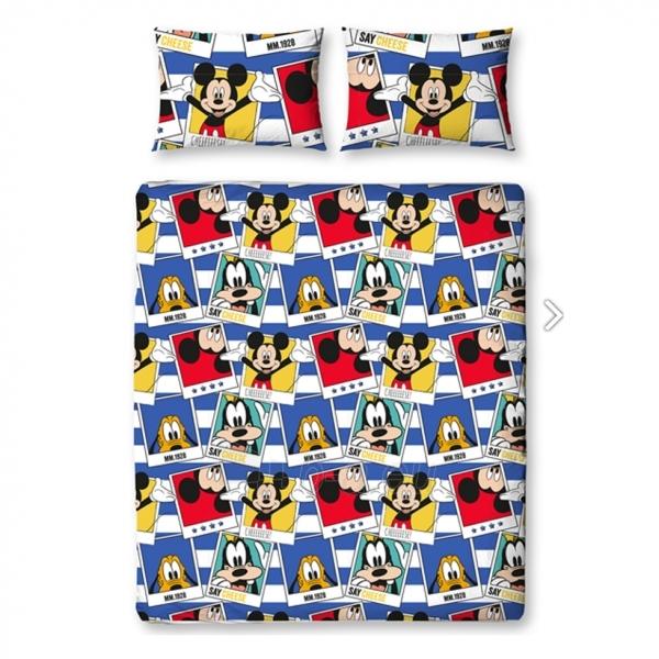 DISNEY Mickey Mouse  dvigulės patalynės komplektas (Polaroidinės nuotraukos) Paveikslėlis 4 iš 5 30115700700