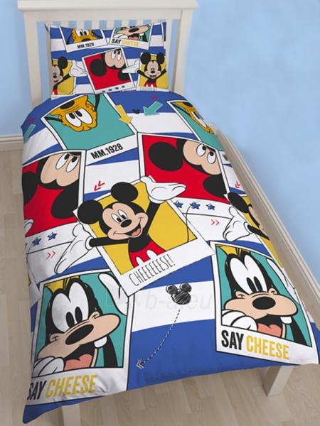 DISNEY Mickey Mouse  dvipusės patalynės komplektas (Polaroidinės nuotraukos) Paveikslėlis 1 iš 3 30115700702