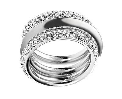 DKNY Skládací ocelový prsten NJ1958040 (Dydis: 59 mm) Paveikslėlis 1 iš 1 30070202481