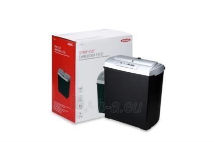 Dokumentų naikiklis Ednet S7CD, 7-lapai CD/DVD, juostelės Paveikslėlis 1 iš 4 30057800143