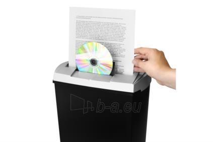 Dokumentų naikiklis Ednet S7CD, 7-lapai CD/DVD, juostelės Paveikslėlis 3 iš 4 30057800143