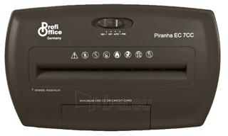 Dokumentų naikintuvas ProfiOffice Piranha EC 7CC DIN P-4 Paveikslėlis 2 iš 4 30057800060