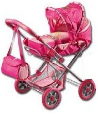 DOLL PRAM vežimėlis dėl lėlės (53-74cm) Paveikslėlis 1 iš 1 250710900262
