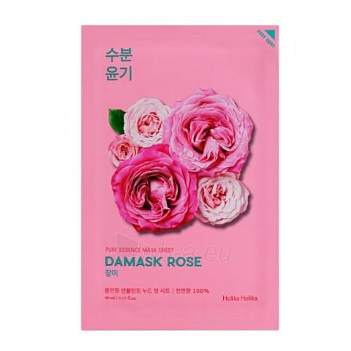 Drėkinamoji kaukė su Damasko rožių ekstraktu Holika Holika 20 ml Paveikslėlis 1 iš 1 310820221940