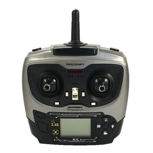 Dronas DRON Quadrocopter FLYING AR DRONE PREMIUM S3 RAPTOR WHITE Paveikslėlis 2 iš 9 310820021885