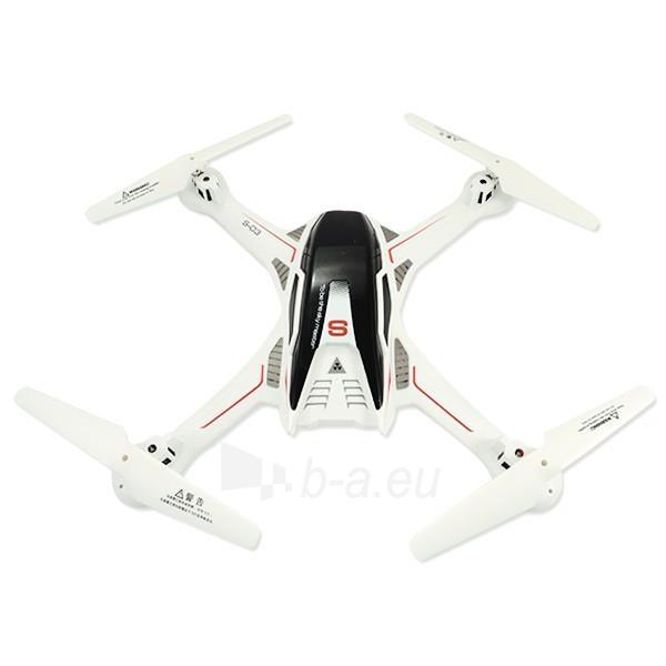 Dronas DRON Quadrocopter FLYING AR DRONE PREMIUM S3 RAPTOR WHITE Paveikslėlis 1 iš 9 310820021885