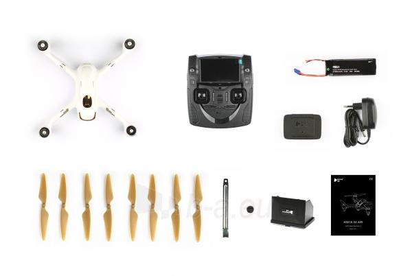 Dronas Hubsan X4 Air H501S Professional Edition white Paveikslėlis 7 iš 7 310820253744