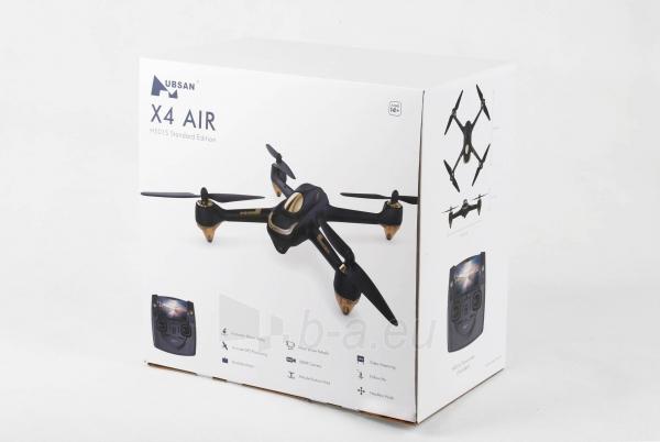 Dronas Hubsan X4 Air H501S Standard Edition black Paveikslėlis 7 iš 8 310820253743