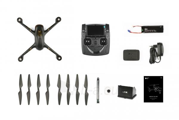 Dronas Hubsan X4 Air H501S Standard Edition black Paveikslėlis 8 iš 8 310820253743