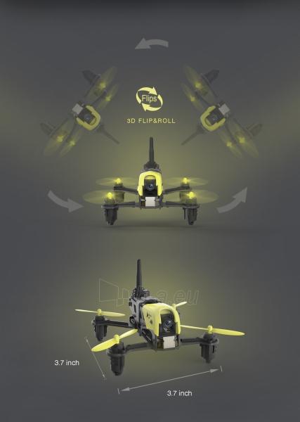 Dronas Hubsan X4 Storm H122D High Version Paveikslėlis 8 iš 8 310820253746