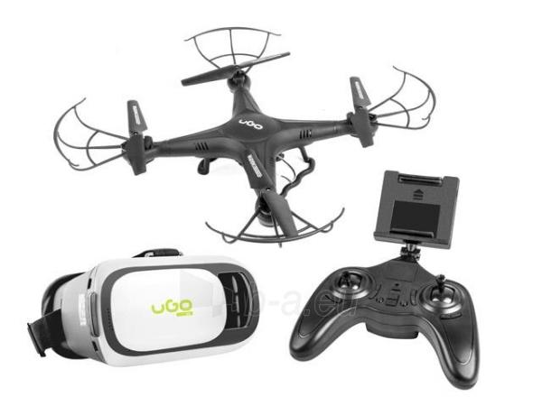 Dronas UGO VGA WIFI DRONE MISTRAL, gyroscope, VR