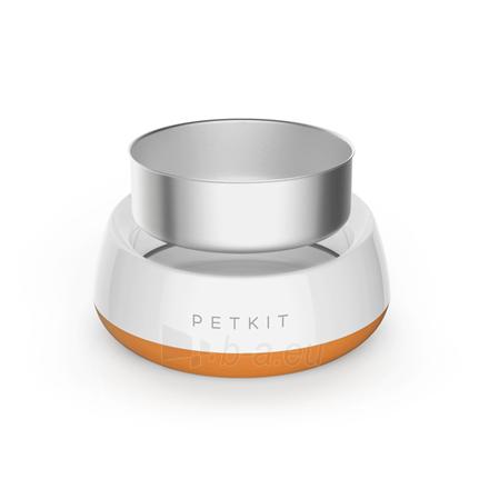 Dubenėlis šuniui PETKIT Smart Pet Bowl Fresh Metal Coral Orange Paveikslėlis 2 iš 6 310820162415