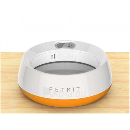 Dubenėlis šuniui PETKIT Smart Pet Bowl Fresh Metal Coral Orange Paveikslėlis 3 iš 6 310820162415