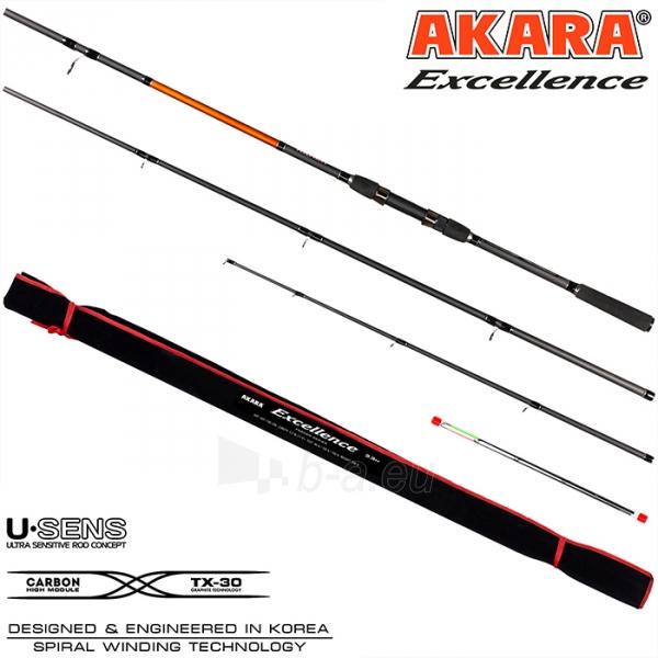Dugninė meškerė Akara Excellence Feeder 3.30m 90-120-150g Paveikslėlis 2 iš 2 310820224693