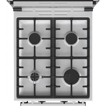 Dujinė viryklė Gorenje Cooker K5351WF Hob type Gas, Oven type Electric, White, Width 50 cm, Electronic ignition, Grilling, LED, 70 L, Depth 60 cm Paveikslėlis 4 iš 4 310820167370