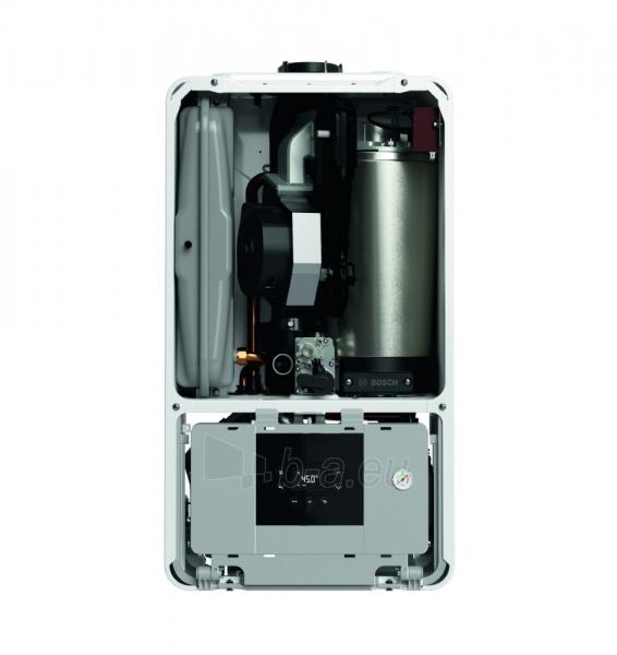 Dujinis kondensacinis katilas Bosch Condens, GC 2300iW, 24P, vandens ruošimas atskirame šildytuve, baltas Paveikslėlis 3 iš 3 310820194536