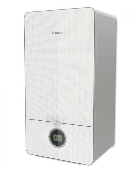 Dujinis kondensacinis katilas Bosch Condens, GC 7000iW, 24/28C, momentinis vandens ruošimas, baltas Paveikslėlis 1 iš 5 310820194509