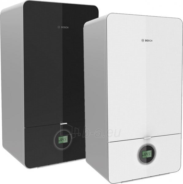 Dujinis kondensacinis katilas Bosch Condens, GC 7000iW, 24/28C, momentinis vandens ruošimas, baltas Paveikslėlis 3 iš 5 310820194509