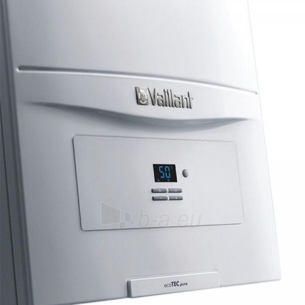 Dujinis kondensacinis katilas Vaillant ecoTEC PURE VU 246/7-2 Paveikslėlis 3 iš 3 310820253714