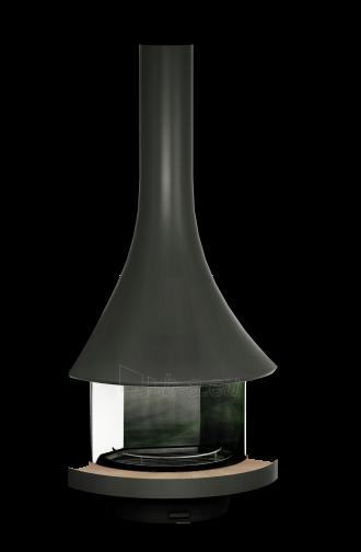 Dujinis židinys Bordelet Eva 992, sieninis, su stiklu Paveikslėlis 2 iš 2 310820236088