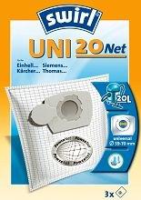 Dulkių siurblio filtras SWIRL UNI20/3 Net  Paveikslėlis 1 iš 1 301150000068