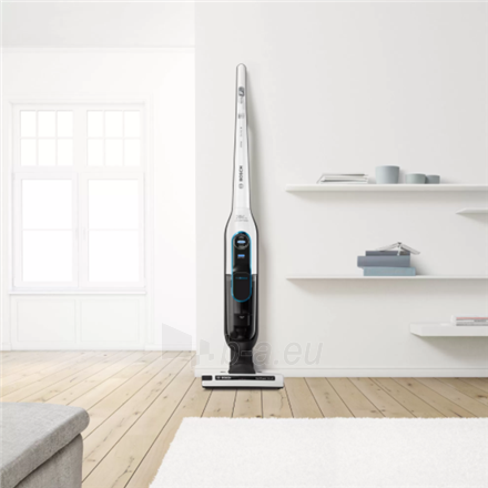 Dulkių siurblys Bosch Vacuum cleaner BCH86SIL1 Athlet ProSilence 28Vmax Handstick, 60 min, 0.9 L, White, Li-Ion Paveikslėlis 2 iš 3 310820223021