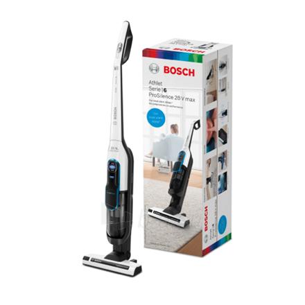 Dulkių siurblys Bosch Vacuum cleaner BCH86SIL1 Athlet ProSilence 28Vmax Handstick, 60 min, 0.9 L, White, Li-Ion Paveikslėlis 3 iš 3 310820223021