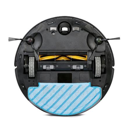 Dulkių siurblys Ecovacs Vacuum cleaner DEEBOT OZMO T8 AIVI Robot, 175 min, 0.42 L, 67 dB, Wet & Dry, Black, Lithium Ion, Warranty 24 month(s), Battery warranty 24 month(s) Paveikslėlis 4 iš 4 310820222998