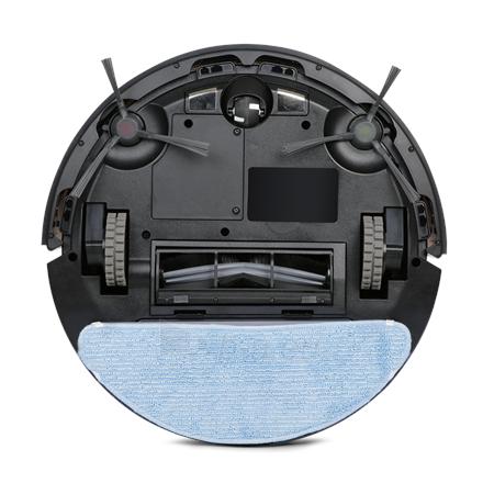 Dulkių siurblys Ecovacs Vacuum cleaner DEEBOT U2 PRO Robot, 150 min, 0.4 L, 66 dB, Wet & Dry, Black, Lithium Ion Paveikslėlis 5 iš 5 310820224678