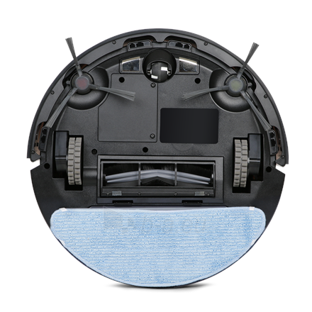 Vacuum cleaner Ecovacs Vacuum cleaner DEEBOT U2 Robot, 110 min, 0.4 L, 66 dB, Wet & Dry, White, Lithium Ion Paveikslėlis 4 iš 5 310820224677