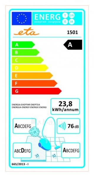 Vacuum cleaner ETA Manoa, Mėlynas Paveikslėlis 2 iš 5 250120100984