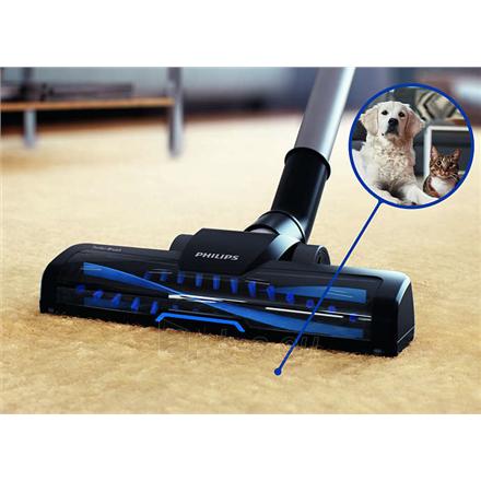 Dulkių siurblys Philips PowerPro Active vacuum cleaner FC9556/09 Bagless, Louros Blue, 750 W, 1.5 L, 76 dB, HEPA filtration system, Paveikslėlis 5 iš 6 310820223874