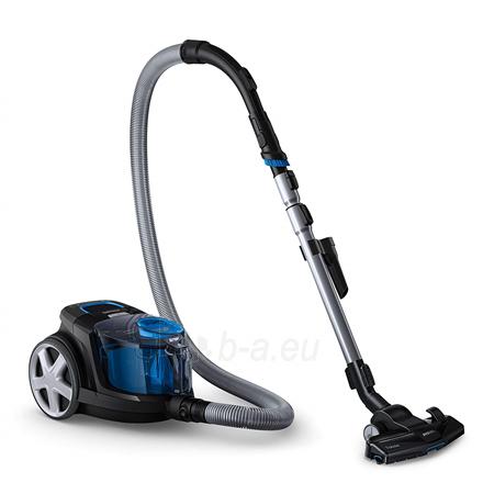 Dulkių siurblys Philips Vacuum cleaner PowerPro Compact FC9331/09 Warranty 24 month(s), Bagless, Black, 650 W, 1.5 L, AAA, A, C, A, 76 dB, Paveikslėlis 1 iš 5 310820223928
