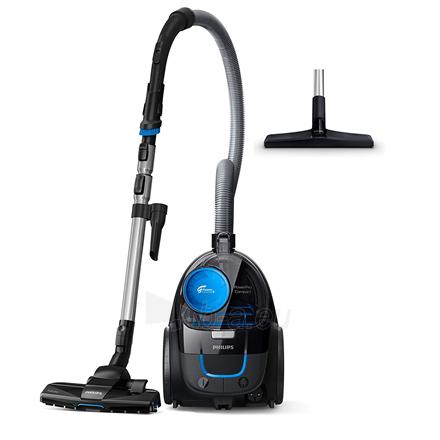 Dulkių siurblys Philips Vacuum cleaner PowerPro Compact FC9331/09 Warranty 24 month(s), Bagless, Black, 650 W, 1.5 L, AAA, A, C, A, 76 dB, Paveikslėlis 2 iš 5 310820223928