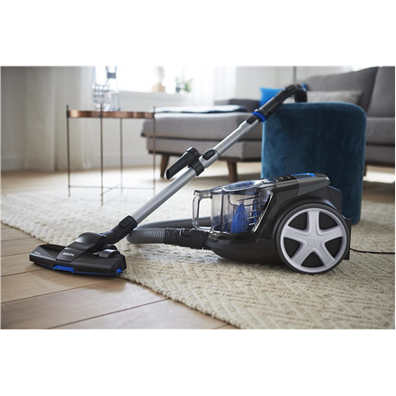 Dulkių siurblys Philips Vacuum cleaner PowerPro Compact FC9331/09 Warranty 24 month(s), Bagless, Black, 650 W, 1.5 L, AAA, A, C, A, 76 dB, Paveikslėlis 5 iš 5 310820223928