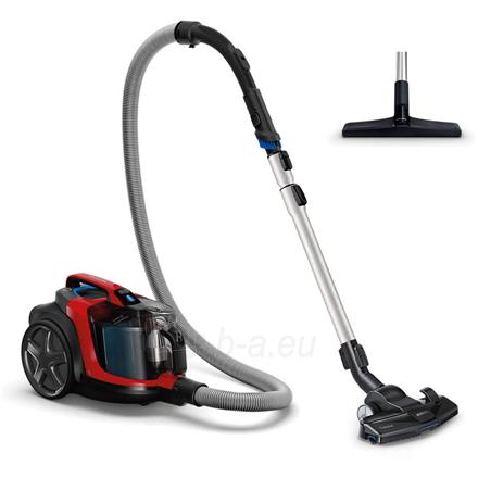 Dulkių siurblys Philips Vacuum cleaner PowerPro Expert FC9729/09 900 W, Bagless, 2 L, 67 dB, Black/Red Paveikslėlis 1 iš 5 310820224690