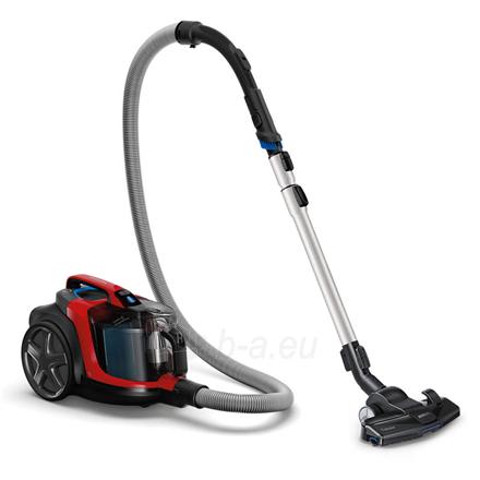 Dulkių siurblys Philips Vacuum cleaner PowerPro Expert FC9729/09 900 W, Bagless, 2 L, 67 dB, Black/Red Paveikslėlis 2 iš 5 310820224690