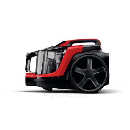Dulkių siurblys Philips Vacuum cleaner PowerPro Expert FC9729/09 900 W, Bagless, 2 L, 67 dB, Black/Red Paveikslėlis 3 iš 5 310820224690